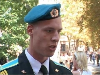 Курсанти-першокурсники Військової академії (м. Одеса). Пряма мова